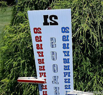 Scoreboard Score RED WHITE BLUE UV Resistant- Cornhole