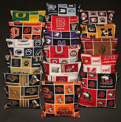 Set of 8 CORNHOLE BAGS PICK Regulation
