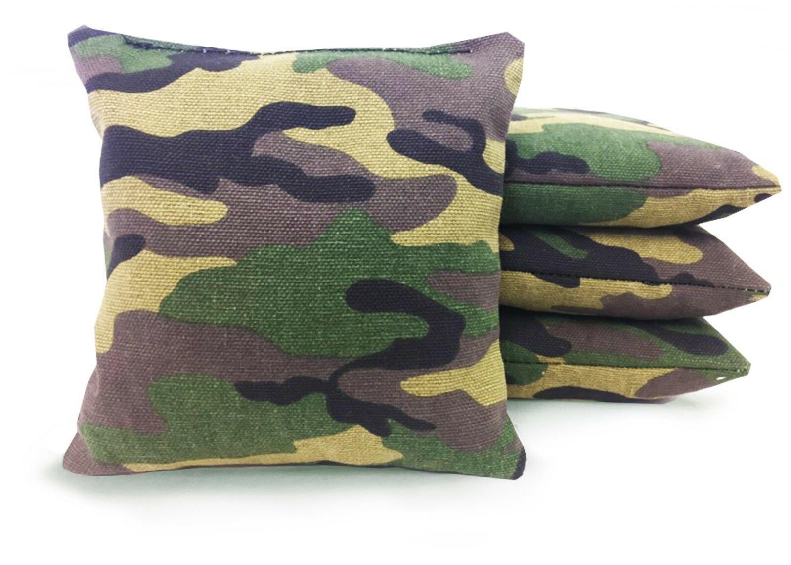 Set of Cornhole Bags Size 25 Colors -High -