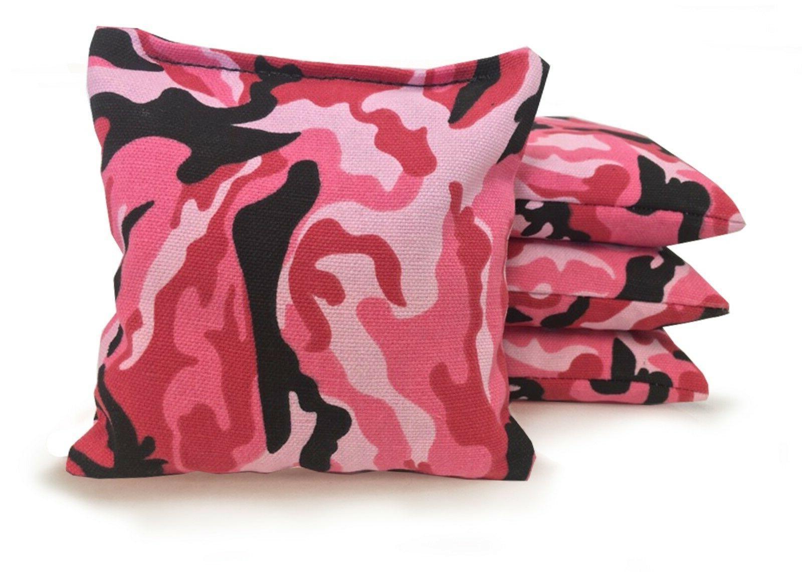 Set of Cornhole Bags - 25 Colors -High - Corn Filled