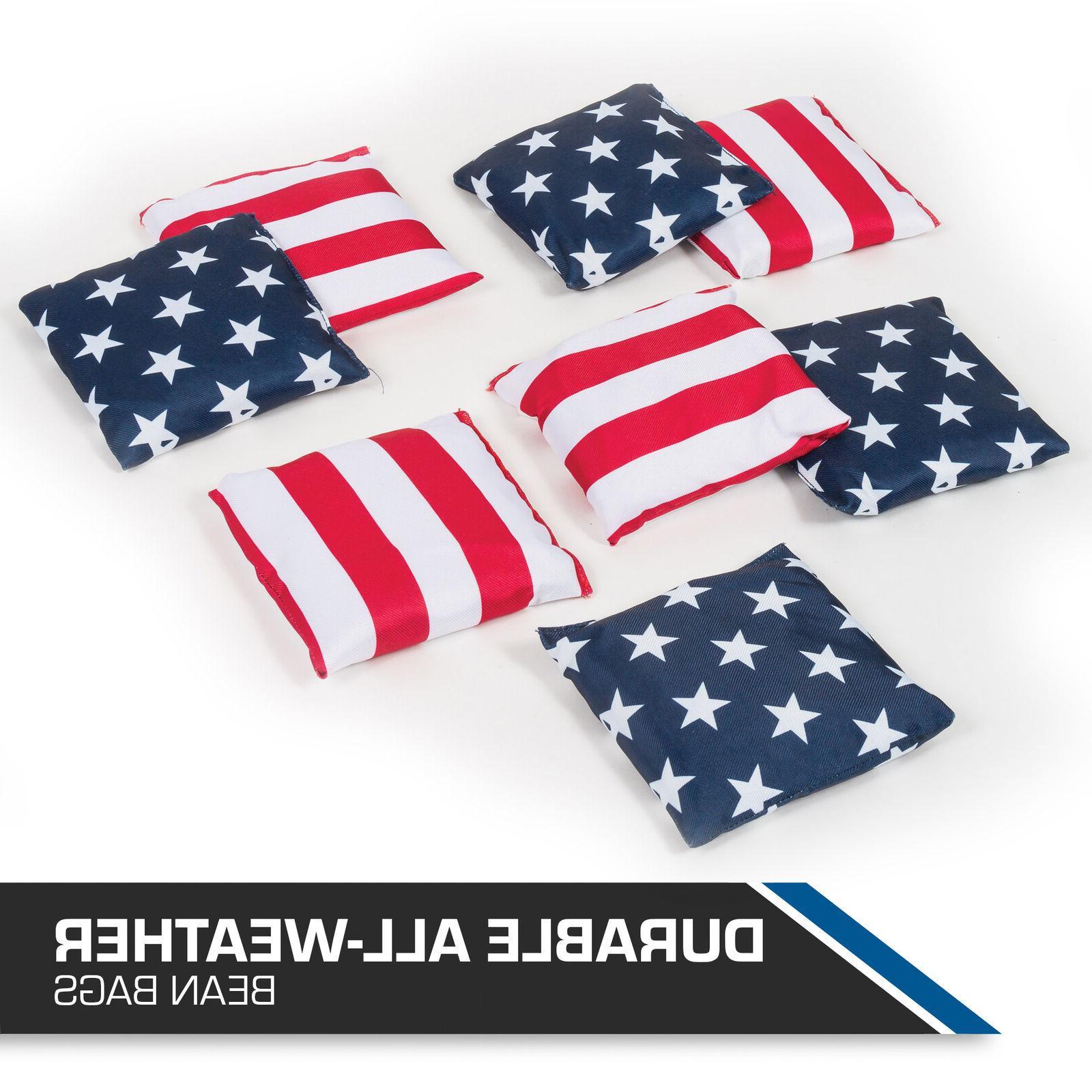 Stars & Bean Bag Toss Set Patriotic Fun