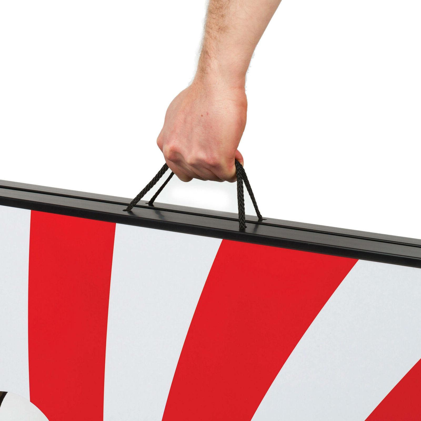 Stars Stripes Portable Cornhole Toss Board Storage
