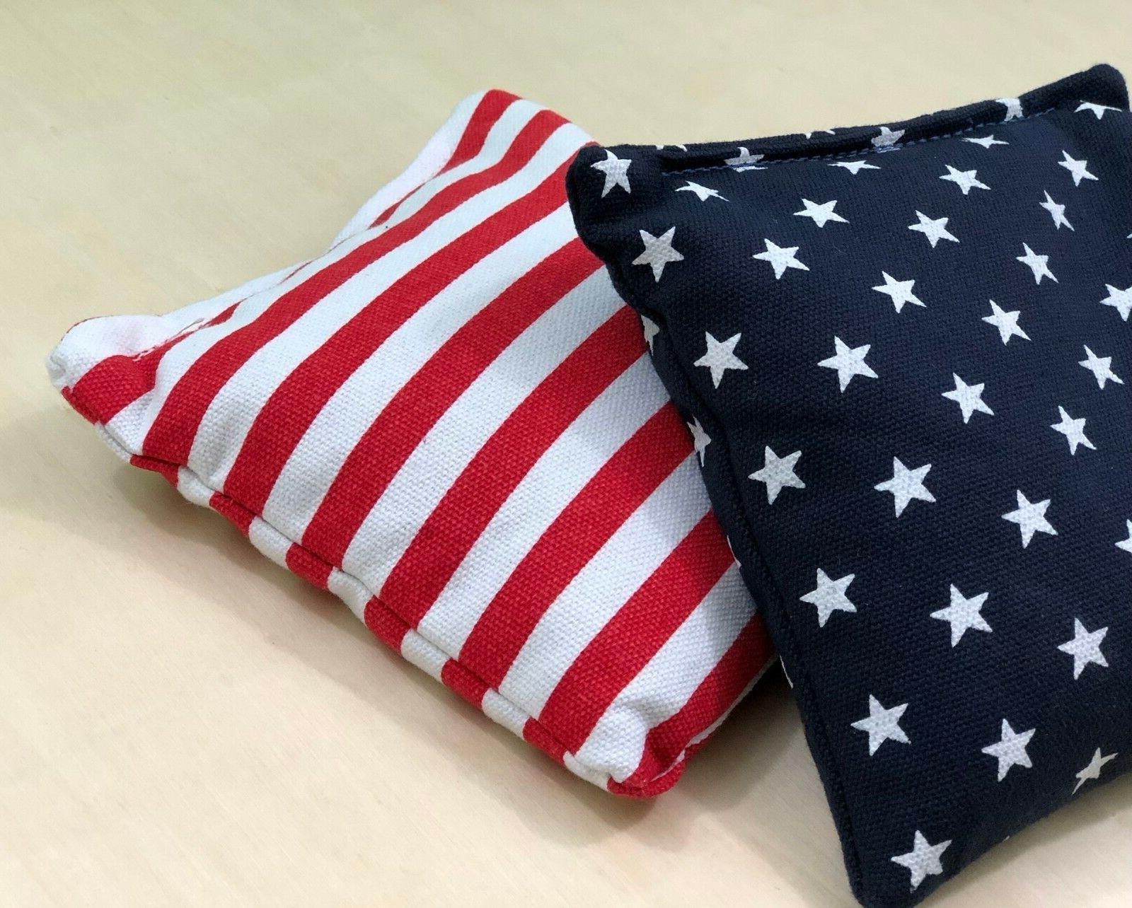 Stars and 8 Cornhole American Bag! Quality