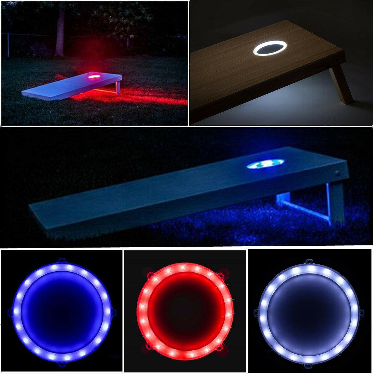 Tailgating Pros LED Cornhole Light Options +