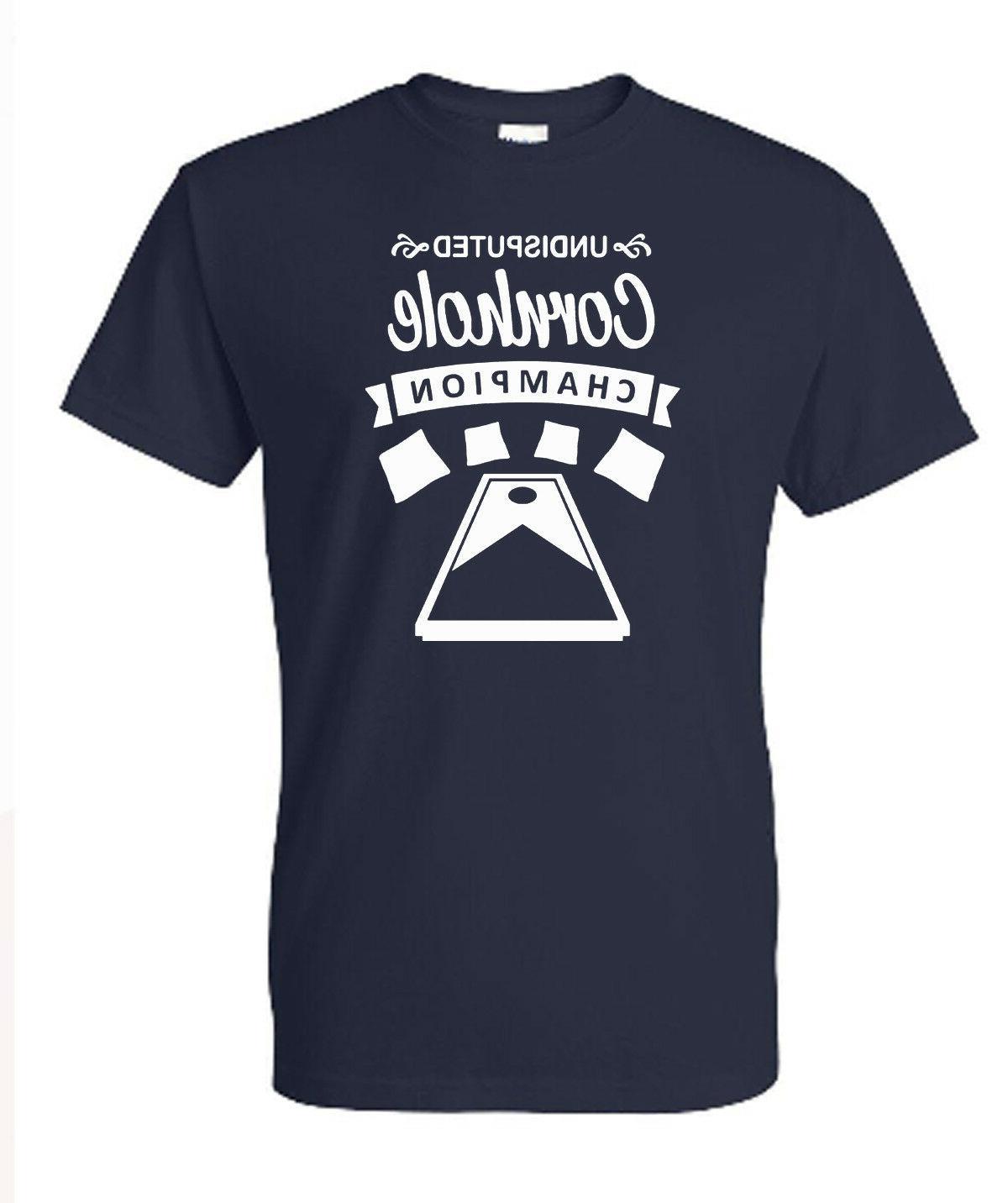 undisputed cornhole champion t shirt american cornhole