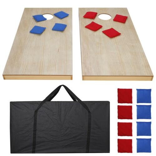 Unfinished Solid Bag Toss Game Size