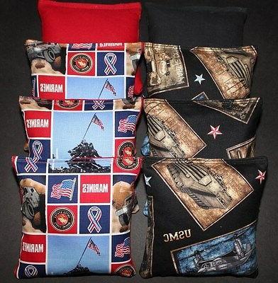 us marines usmc patriotic cornhole bean bags