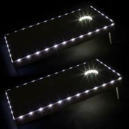 Play Platoon LED Cornhole Lights for Hole and Board, Set of