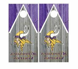minnesota vikings football nfl cornhole board wraps
