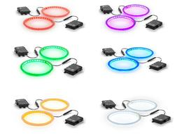 Tailgating Pros Premium 36 LED Cornhole Light Ring Set - 6 C