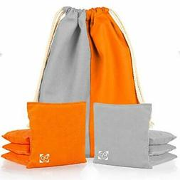 Professional Cornhole Bags - Set of 8 Regulation All Weather