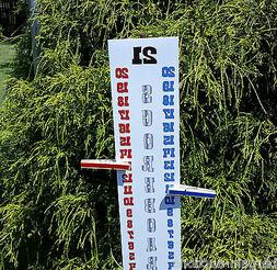 Scoreboard Score Keeper - RED WHITE BLUE - UV Resistant- Cor