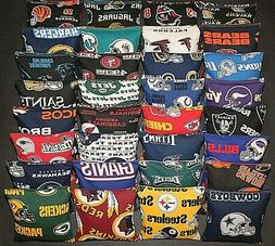 Set of 8 CORNHOLE BAGS PICK YOUR TEAMS! Regulation Size~Top