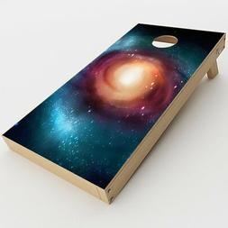 Skin Decal for Cornhole Game Board  / Universe Wormhole Oute