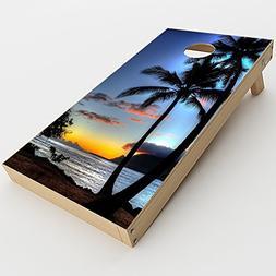 Skin Decal Vinyl Wrap for Cornhole Game Board Bag Toss  Skin