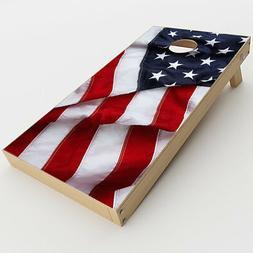 Skin Decals for Cornhole Game Board  / US Flag, America Prou