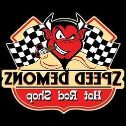 Speed Demon's Hot Rod Shop Red Devil Sleeveless T Shirt