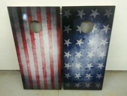 Stars & Stripes Corn Hole Boards - Bean Bag Toss Game