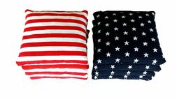 Stars and Stripes - 8 Regulation Cornhole Bags! American Fla