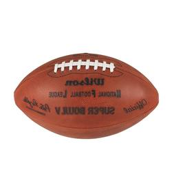 Super Bowl V  Wilson Official Leather Authentic Game Footbal