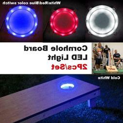 Tailgating Pros Premium 30 LED Cornhole Light Ring Set - 3 C