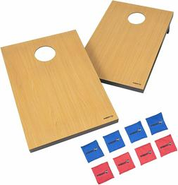 Pro Tournament Bean Bags Toss Cornhole Portable Board BBQ Ga